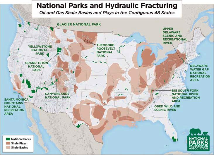 Curious about the impacts of fracking on our national parks ...