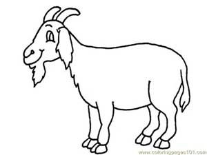 Coloring Pages With Goats Coloring Pictures Of Animals Animal Coloring Pages Coloring Pages