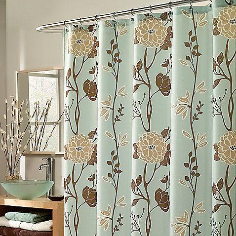 Modern Curtain Fabric Blues Google Search Fabric Shower