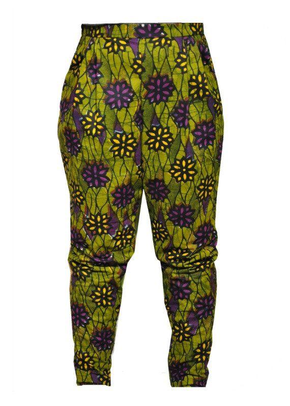 African Print Pants - Plus size pants - Ankara Print trouser on Etsy
