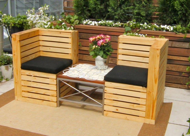 Palets para el jardín, ¿qué podemos hacer con ellos? | Pallets, Diy ...