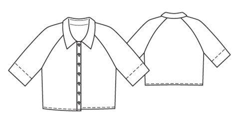 BurdaEasy Cropped Blouse FS/2014 #1K http://www.burdastyle.com/pattern_store/patterns/burdaeasy-cropped-blouse-fs2014