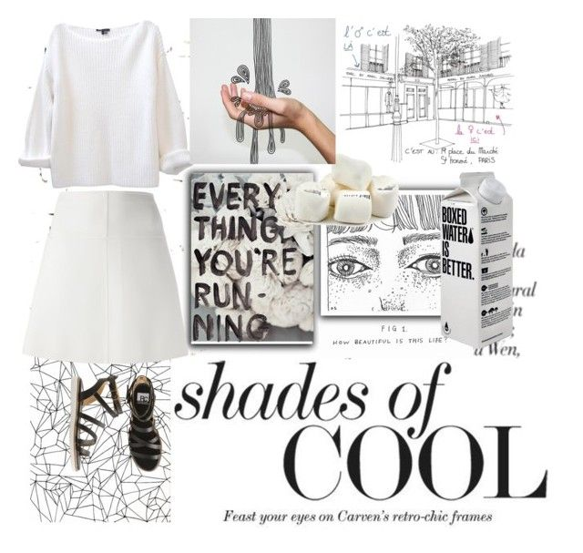 """""""Shades of Cool"""" by melaningaloree ❤ liked on Polyvore featuring Milton & King, Courrèges, BC Footwear, KEEP ME, MELIN, women's clothing, women's fashion, women, female and woman"""