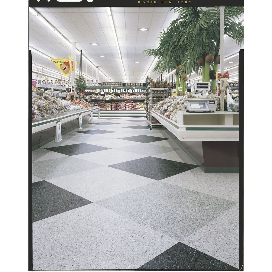 Shop Armstrong 12 In X 12 In Slate Black Speckle Pattern Commercial Vinyl Tile At Lowes Com Vct Tile Restaurant Flooring Vct Flooring