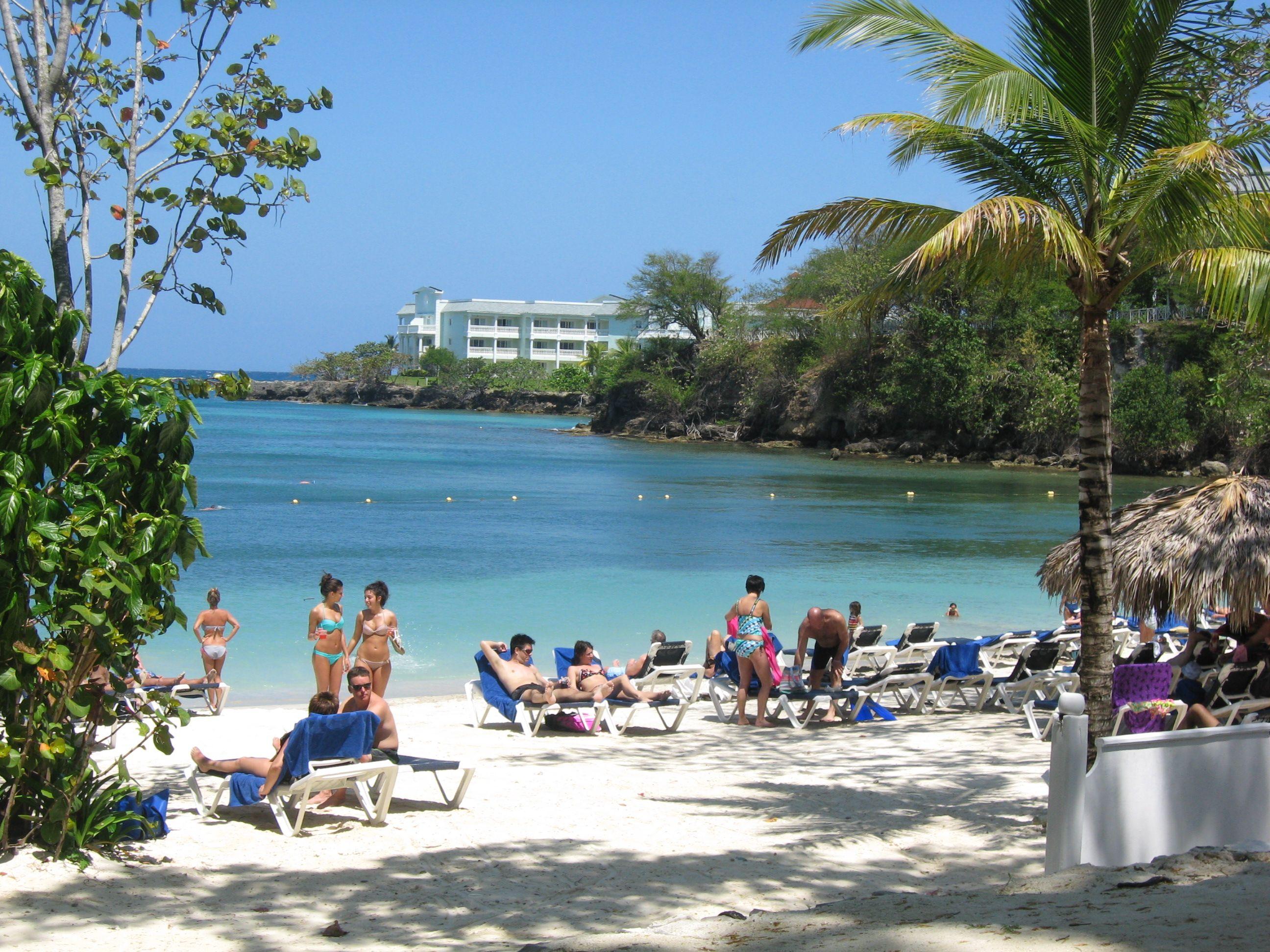 Sunset Cove Beach Jamaica Lady Hamilton Resort Jamaica