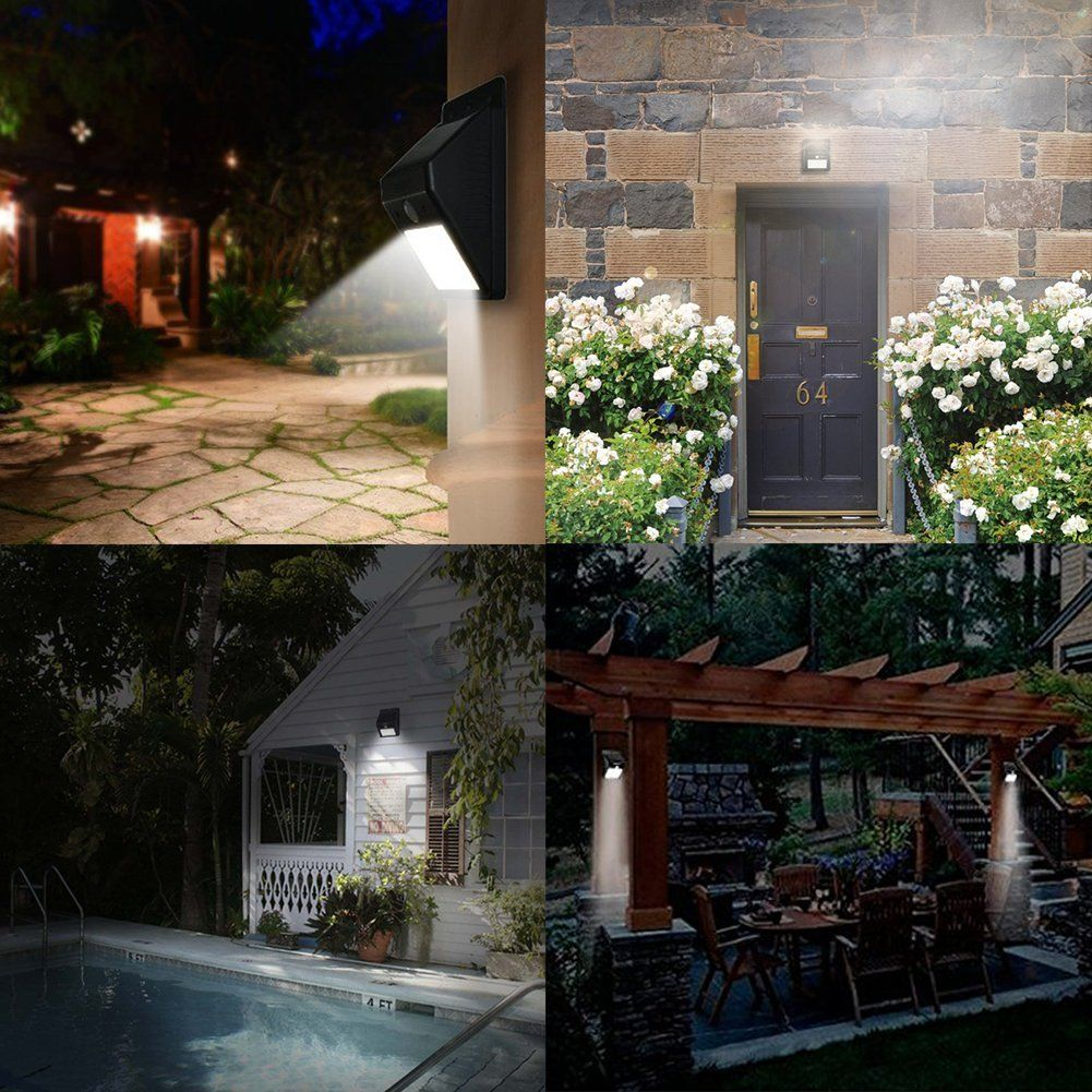 Urpower 4 pack solar light 8 led outoodr solar powered wireless urpower 4 pack solar light 8 led outoodr solar powered wireless waterproof with mozeypictures Image collections