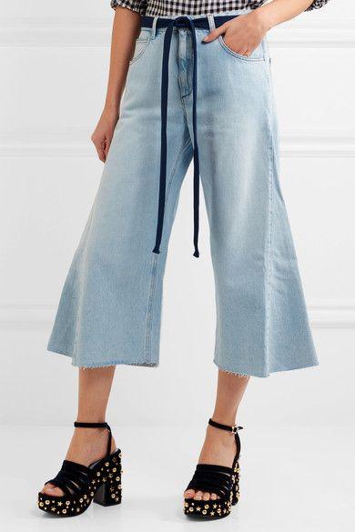 Sonia by Sonia Rykiel Wide-leg cropped jeans haeq65NP