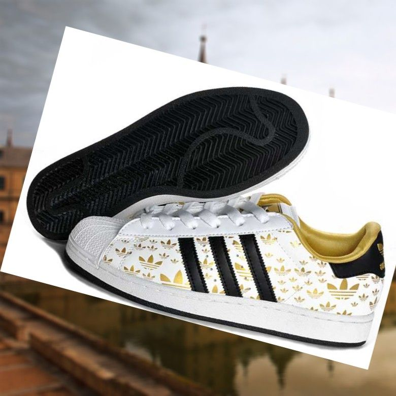 zapatillas adidas superstar blanco y negro