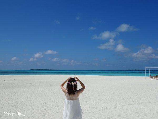 モルディブから、花嫁様のお便り |Wedding Flower・ぽると のブログ