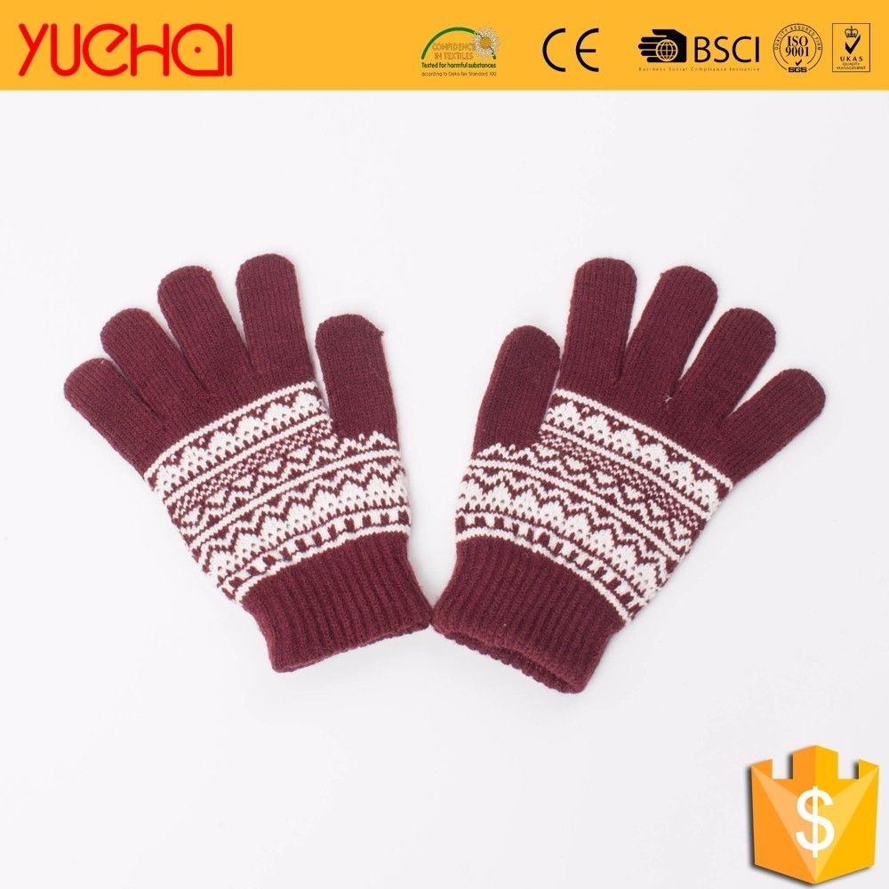 Driving gloves wholesale - Wholesale Winter Hand Mitten Blue Driving Gloves Ski Mittens Gloves_ski