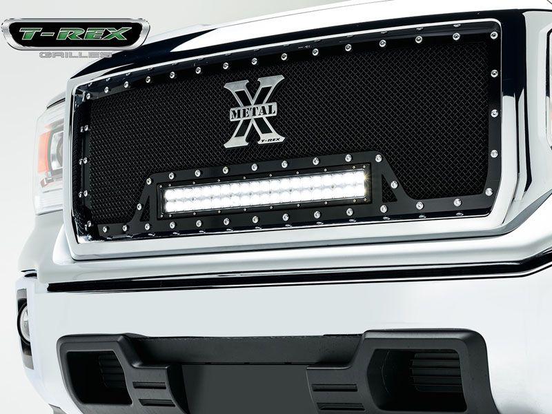 Pin By Xeno Reaper On 2014 15 Gmc Sierra 1500 Billet Mesh Grilles Gmc Accessories Truck Accessories Gmc Sierra