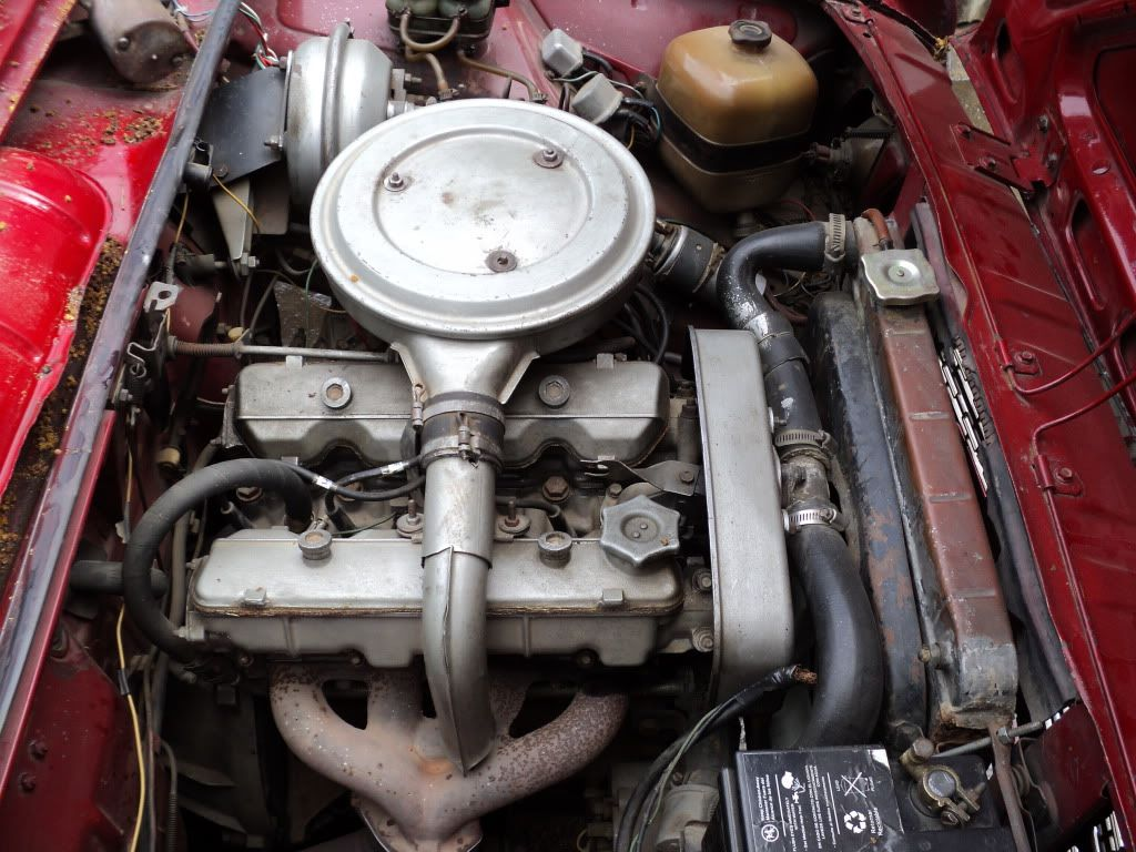 1973 Fiat 125 Coupe Coupe Sport Bialbero Engine With Images