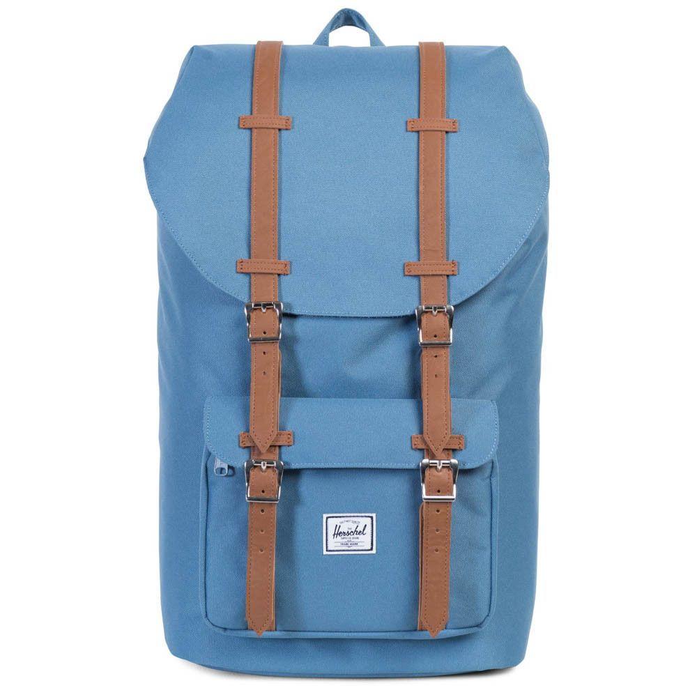 8d2ce27cad51 Herschel Supply Co. Little America Backpack - Captain s Blue Tan ...