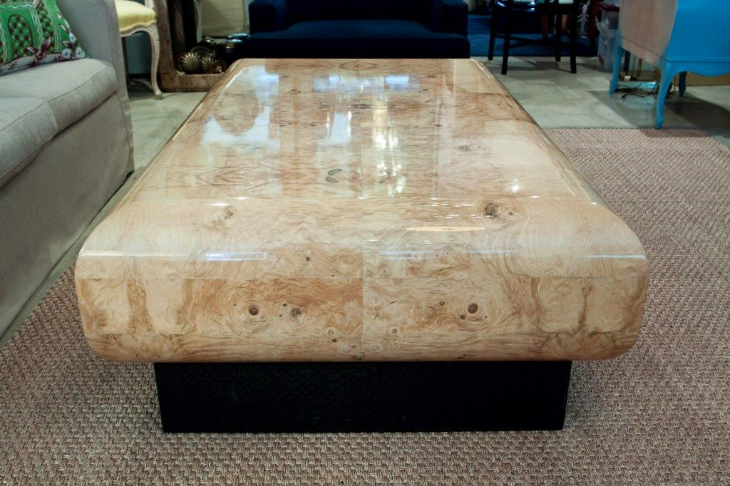 Beau Polished Granite Coffee Table