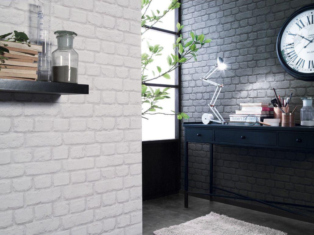 Quelle Couleur Choisir Pour Les Murs De La Cuisine Idées - Papier peint tendance salon pour idees de deco de cuisine