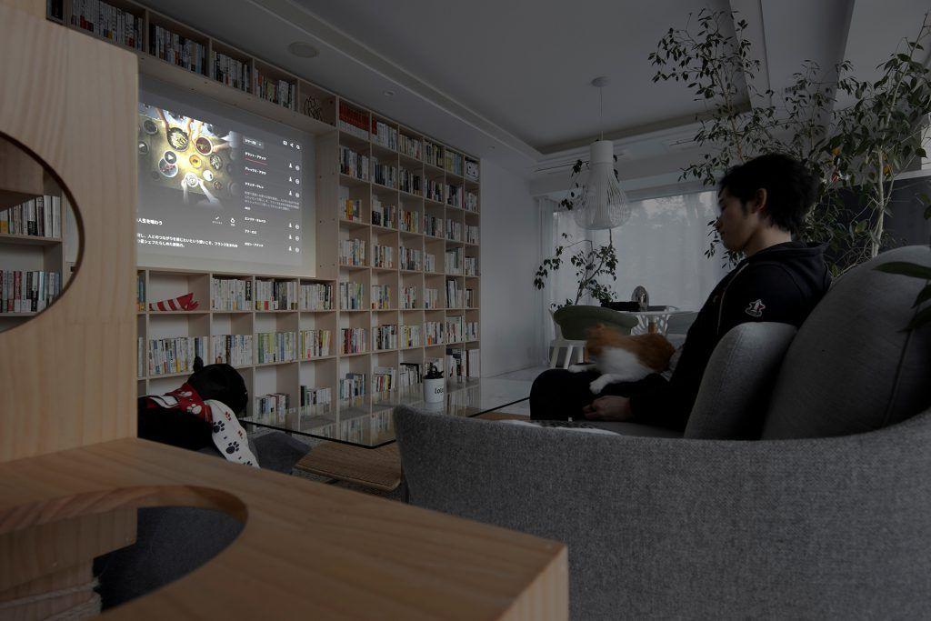 メンタリストdaigoさんの本棚 No 04 2020 本棚 プロジェクター