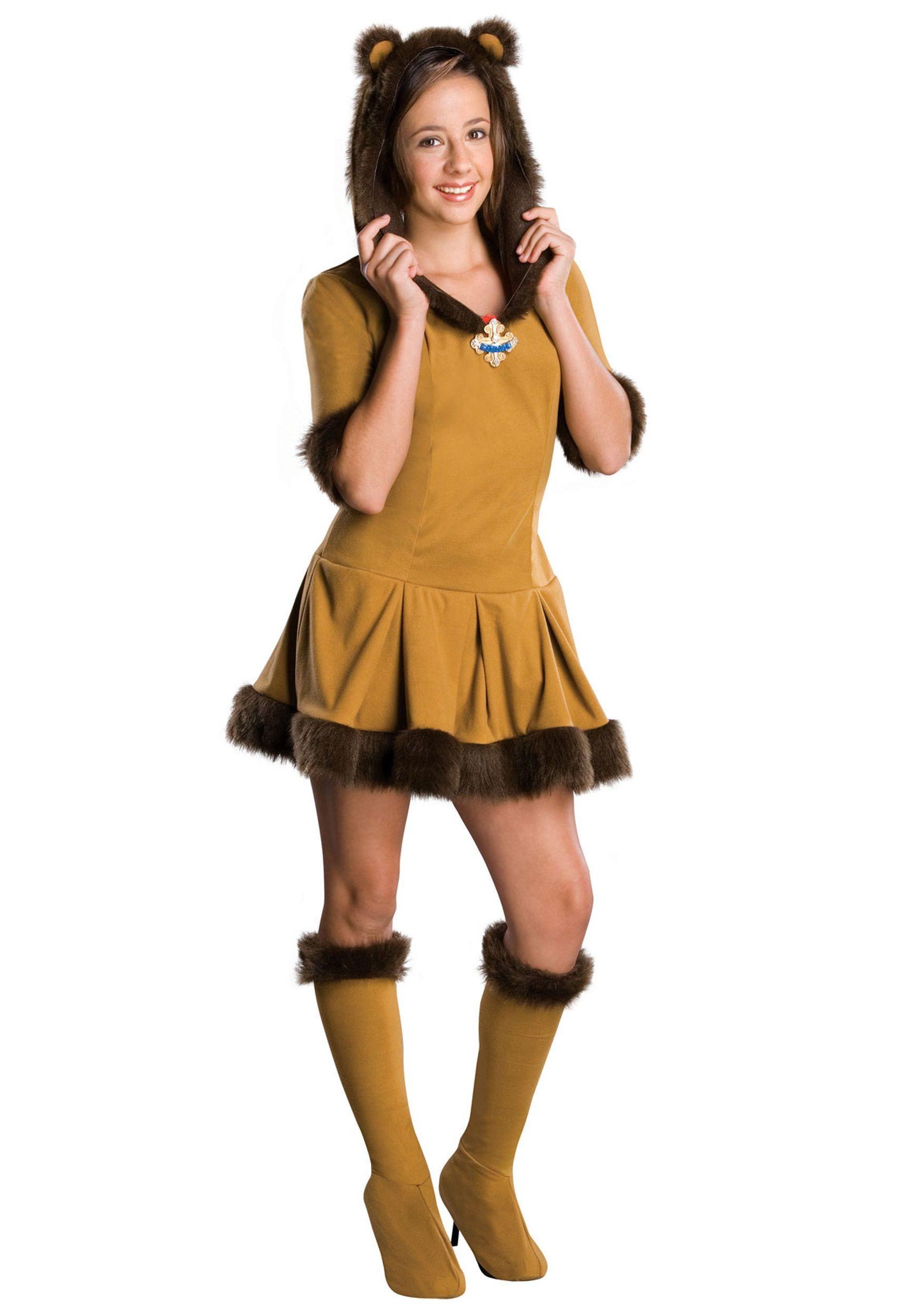 Teen Cowardly Lion Costume  sc 1 st  Pinterest & Teen Cowardly Lion Costume | Halloween Costumes | Pinterest ...