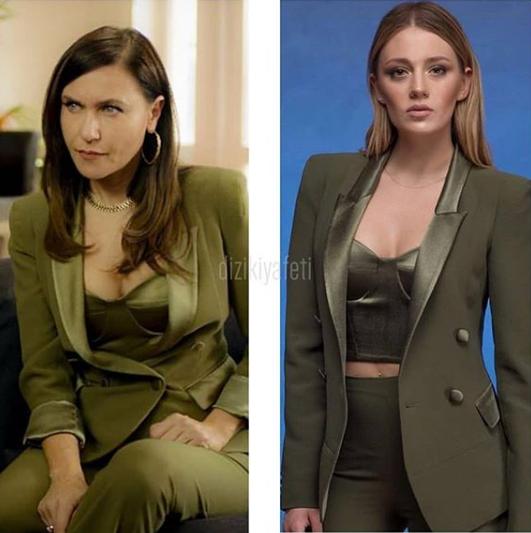 Yasak Elma 52 Bolum Kiyafetleri Kim Ne Giydi Turkish Fashion Classy Dress Fashion Outfits