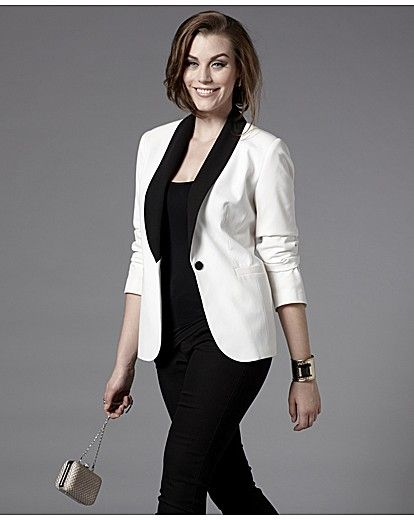 18251e99b3e ... Plus Size Jackets for Spring. Bespoke Editors Pick Tuxedo Jacket