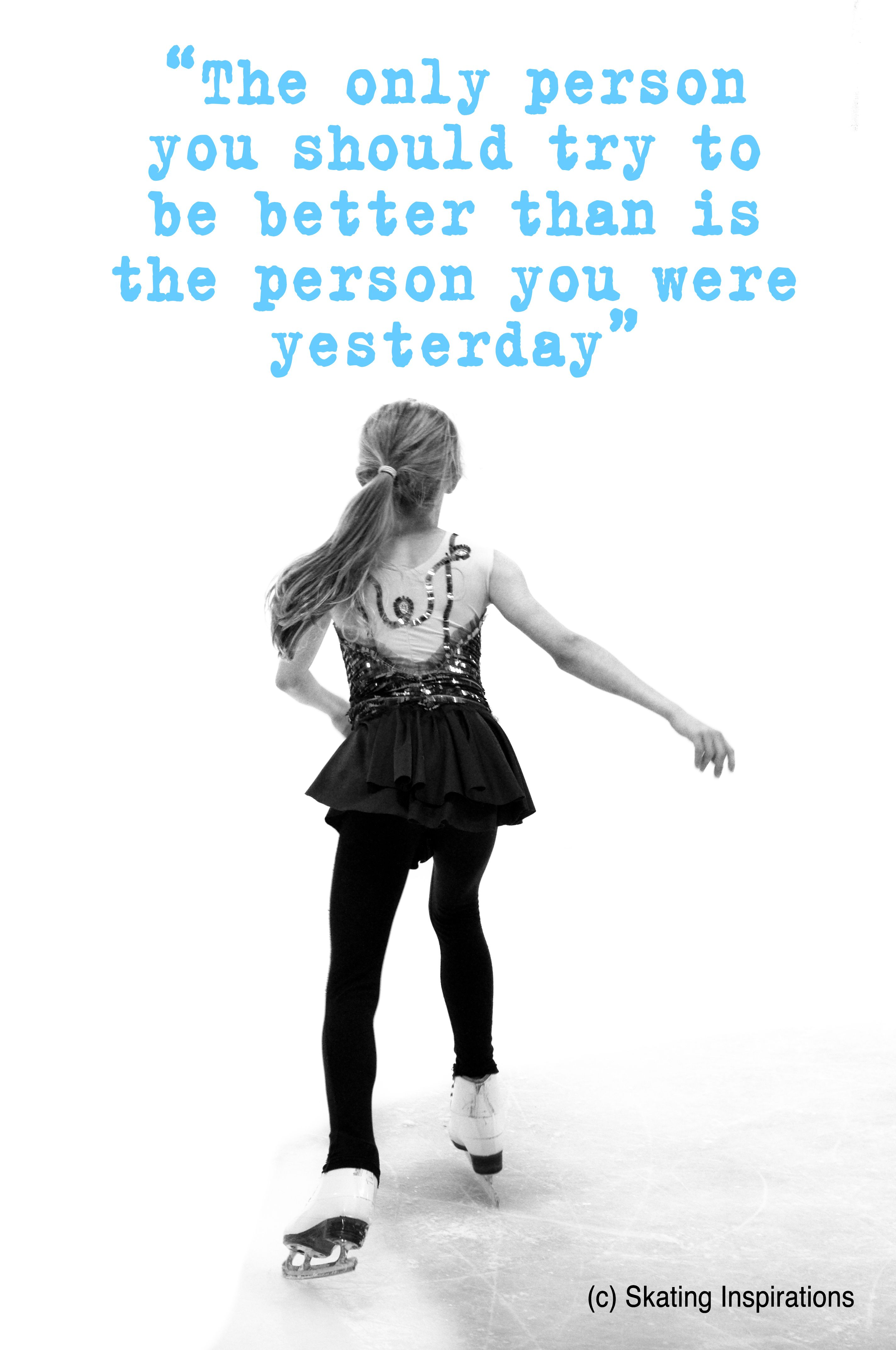 Ice Skating Quotes You Are the Only Judge | Figure Skating | Figure Skating, Figure  Ice Skating Quotes
