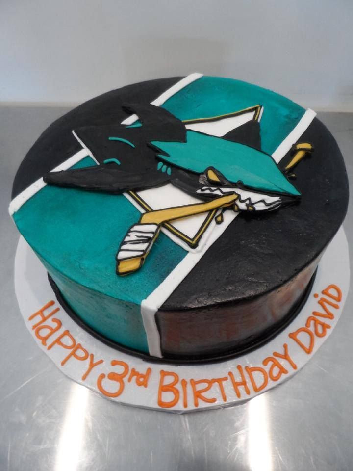 San Jose Sharks birthday cake | Gala Bakery - San Lorenzo, CA | www ...