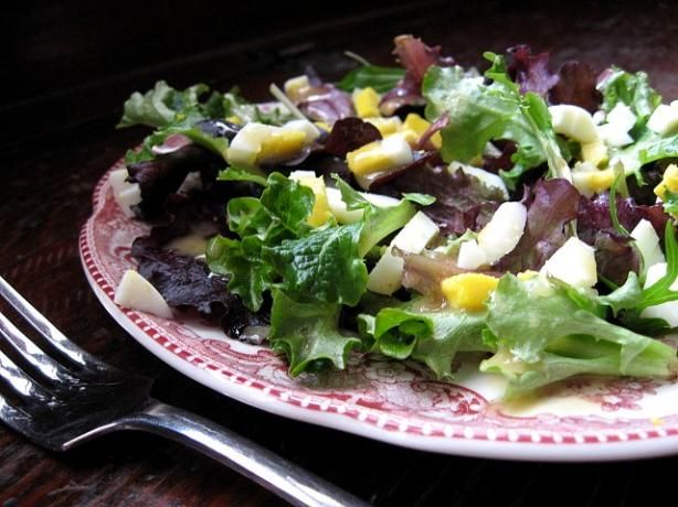 Great salad for any meal or as the meal if you add a meat.