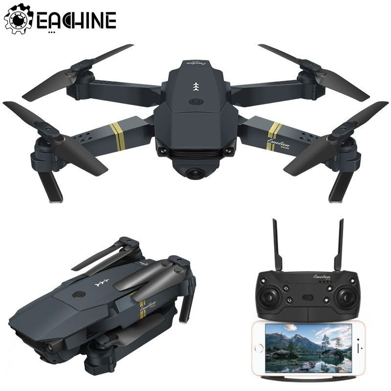 Drohne x Pro 2.4G Selfie WIFI FPV mit 4K HD Kamera faltbare Mini RC Quadcopter