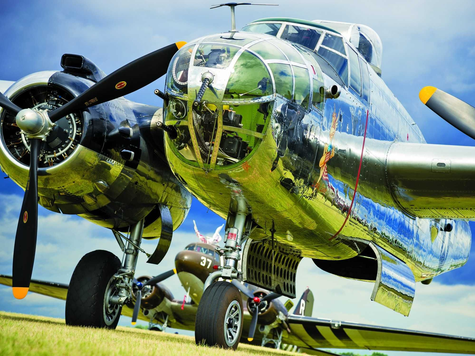 Photos Of Flying Cars And Vintage Warbirds From A