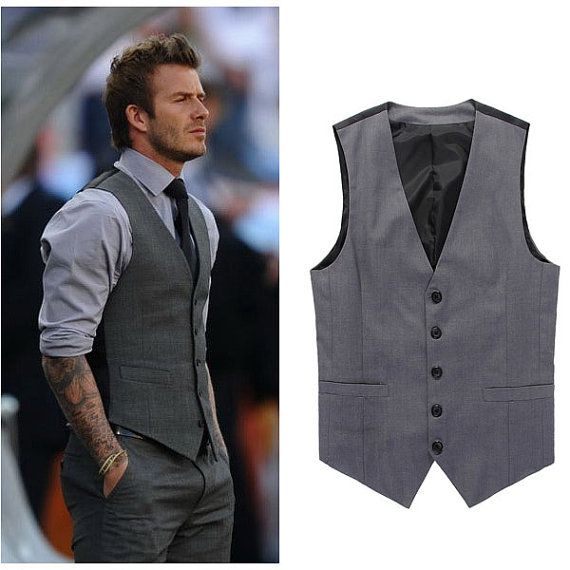 dress and vest
