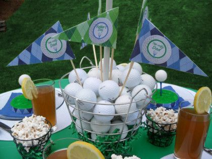 Golf Father S Day Party Ideas Golf Theme Party Golf Party Mini