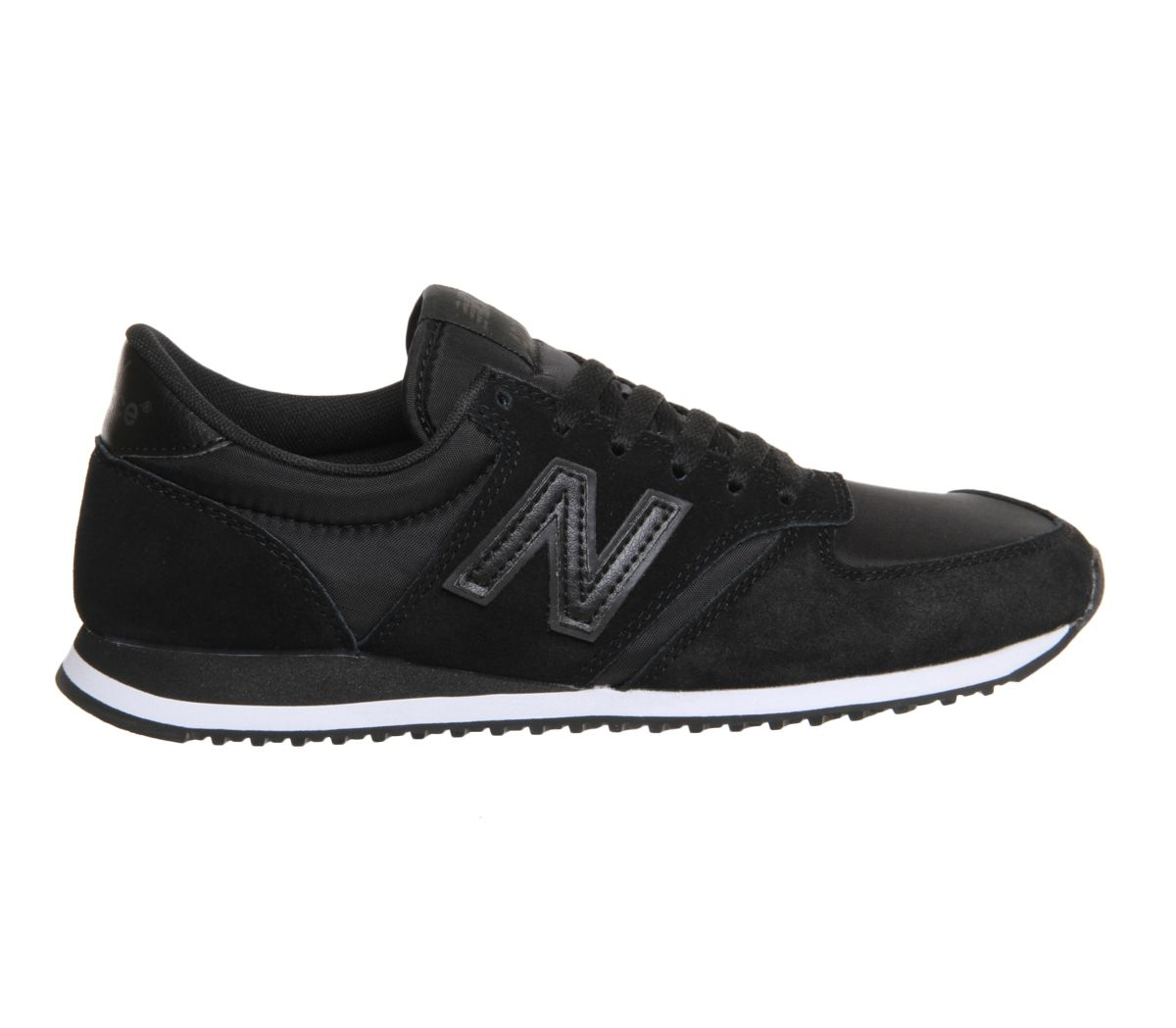 new balance u420 black black