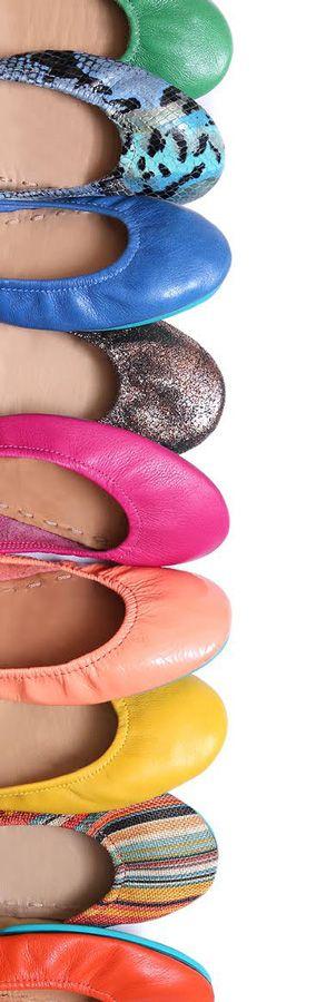 Tieks Ballet Flats. #tieks