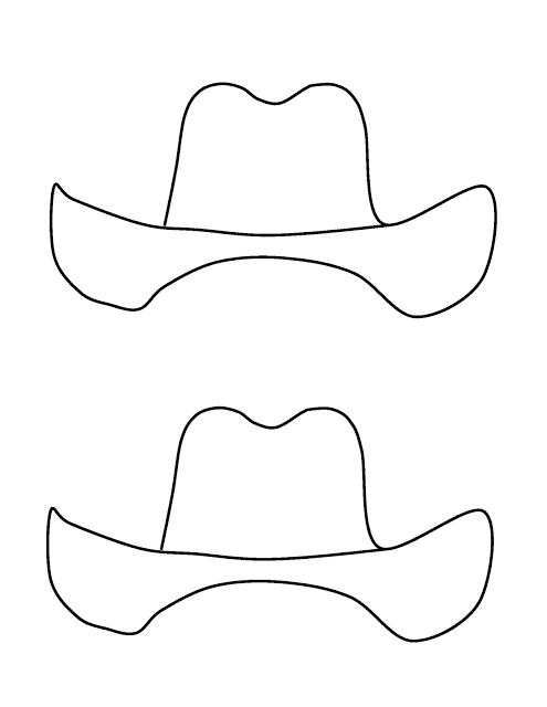 47e7f9c9a31d1 Cowboy Adjectives template for craft that accompanies the writing ...