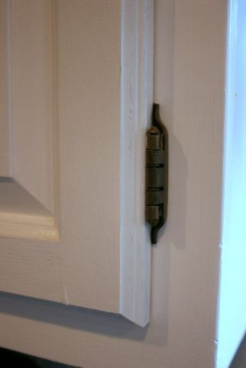 """How to Install Overlay or """"Hidden"""" Cabinet Hinges   Hinges ..."""