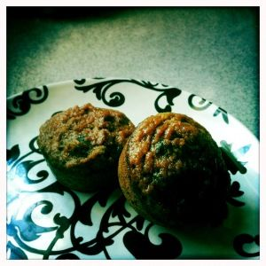 paleo carrot cake muffins, these are delish!!  I need to make them again!