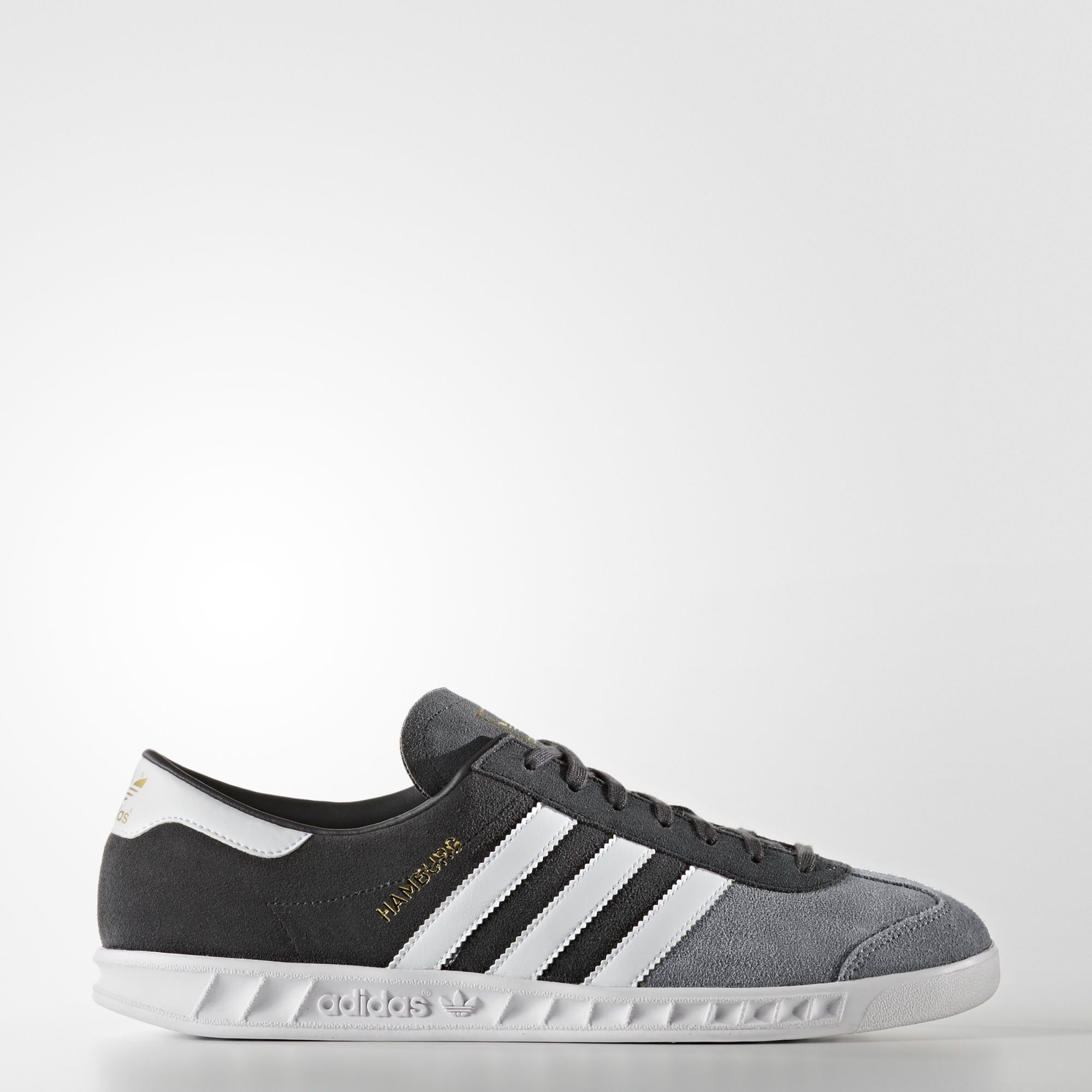 adidas Hamburg Mens Shoes Grey