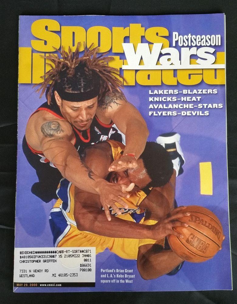 Sport Illustrated Magazine May 29, 2000 NBA Playoffs