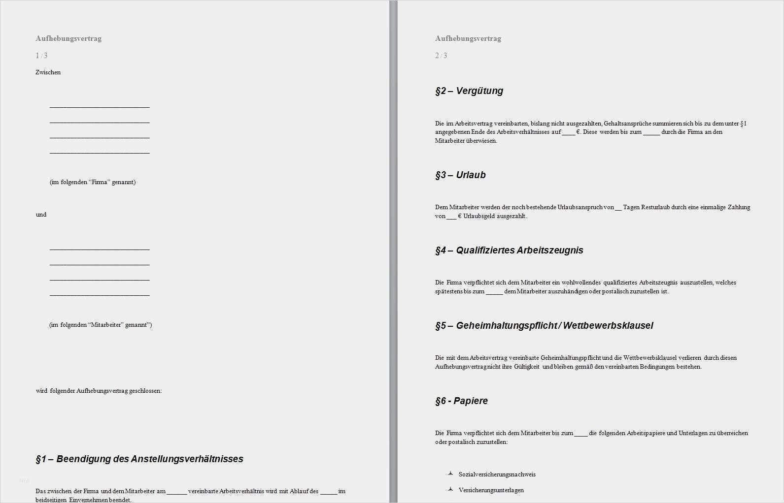 35 Einzigartig Aufhebungsvertrag Ohne Abfindung Vorlage Vorrate In 2020 Vorlagen Lebenslauf Lebenslauf Lebenslauf Vorlagen Word