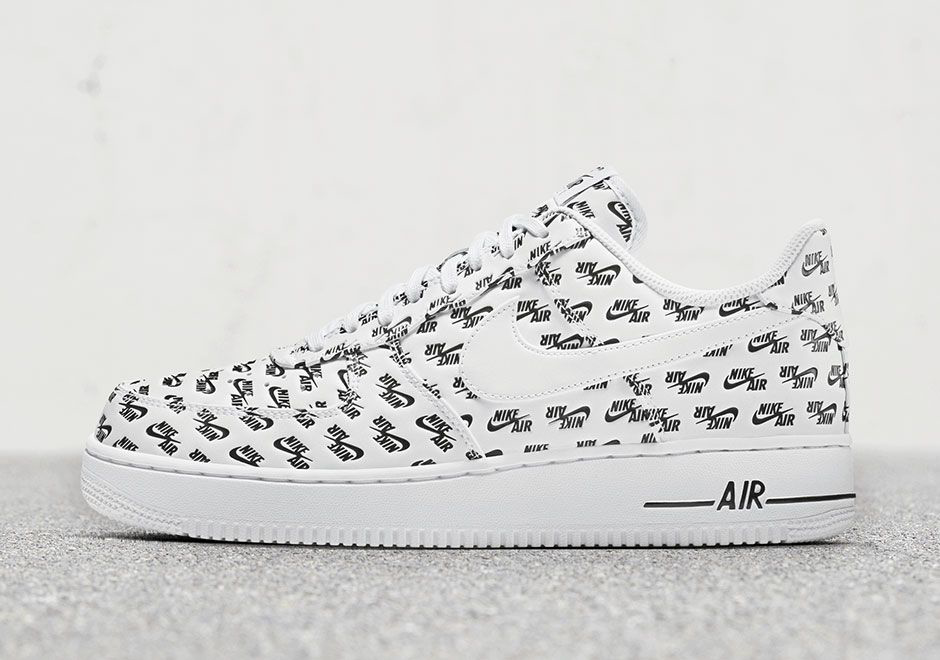 "Nike Air Force 1 Low QS ""Logo"" Pack drops this Saturday via Nike SNKRS"