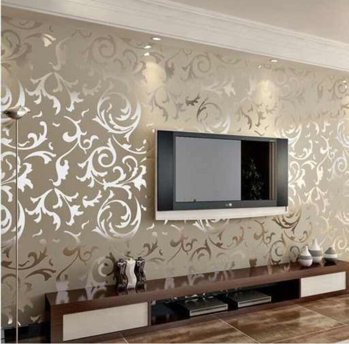 Wallpaper Living Room, Gold Living Room, Home Decor