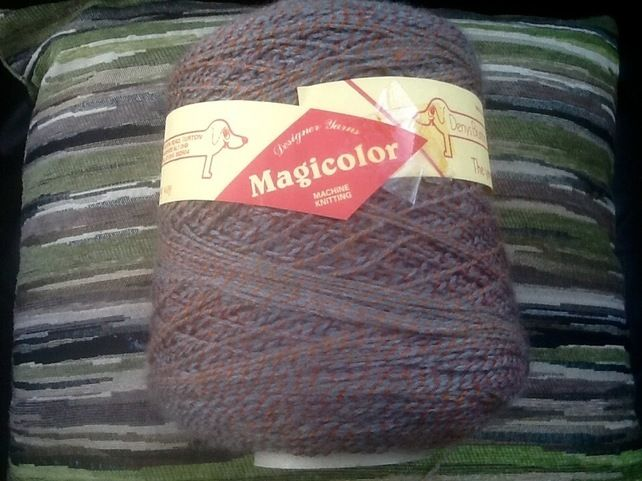 340g Cone of Denys Brunton Designer Magicolour Yarn. £6.00