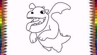 Image Result For How To Draw A Baby Dragon Clash Royale
