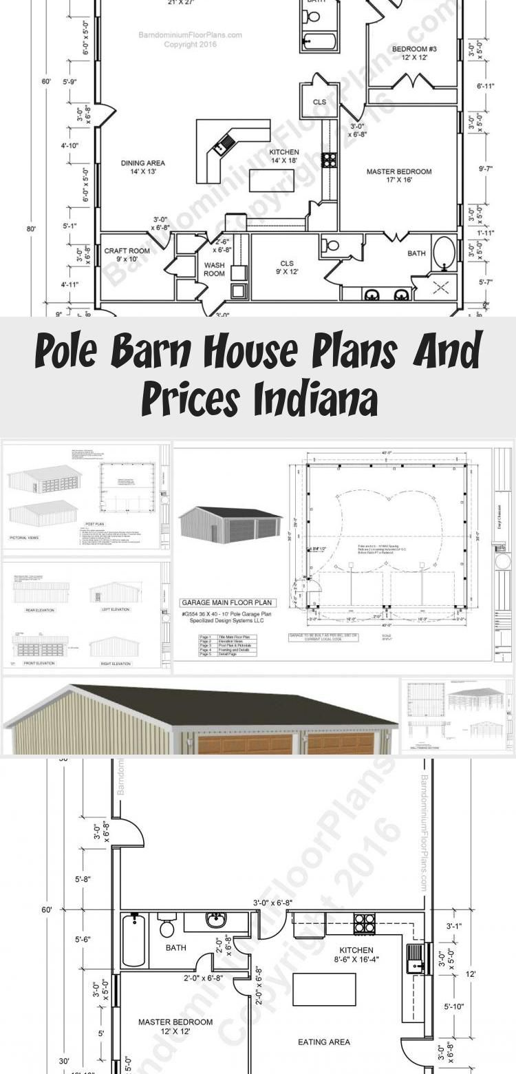 Pole Barn House Plans And Prices Indiana In 2020 Pole Barn House Plans Barn House Plans Pole Barn Homes