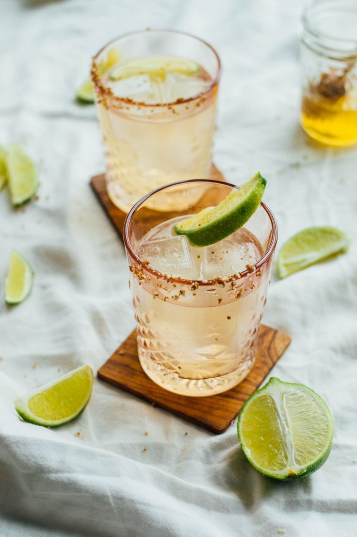 Photo of Honey & Smoke Mezcal Cocktail