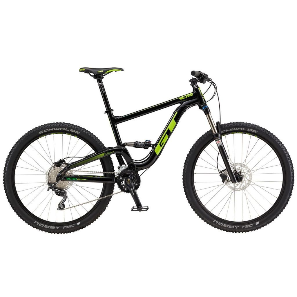 Gt Verb Expert Complete Mountain Bike 2017 Black Slime Lime S