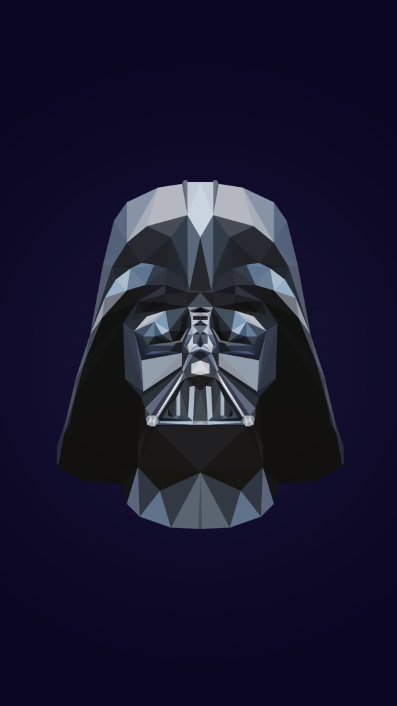 Darth Vader Low Poly 4k Phone Wallpapers Phone Wallpaper Mobile Cartoon