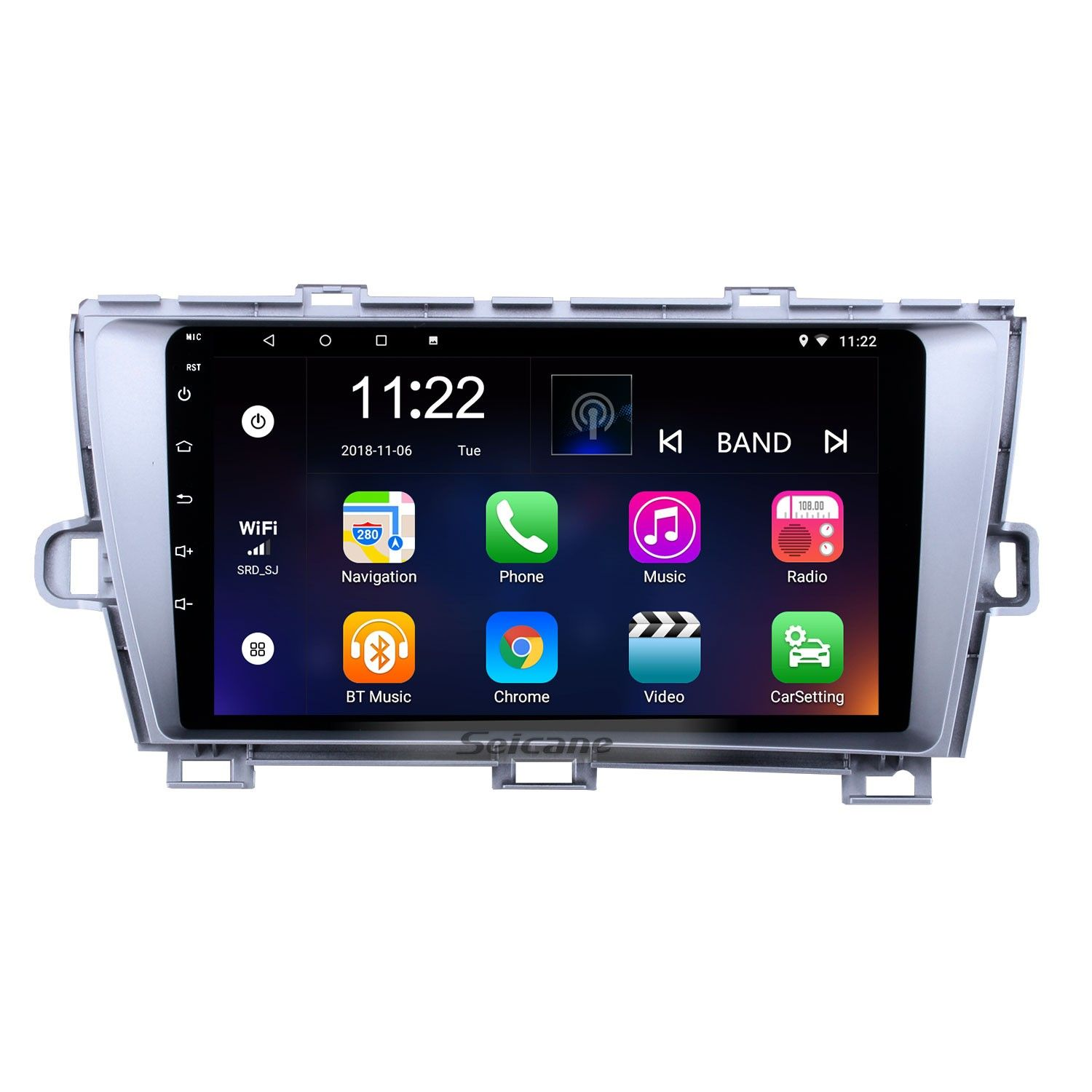 Seicane 9 Inch Android 8 1 Radio For 2009 2013 Toyota Prius Left