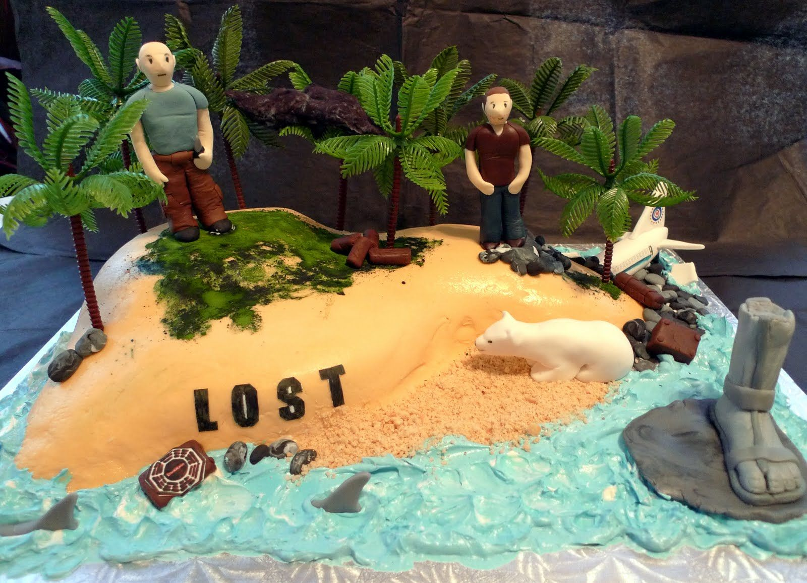 Cake Recipes Destiny 2: Cakebee: Destiny Calls For A LOST Cake...