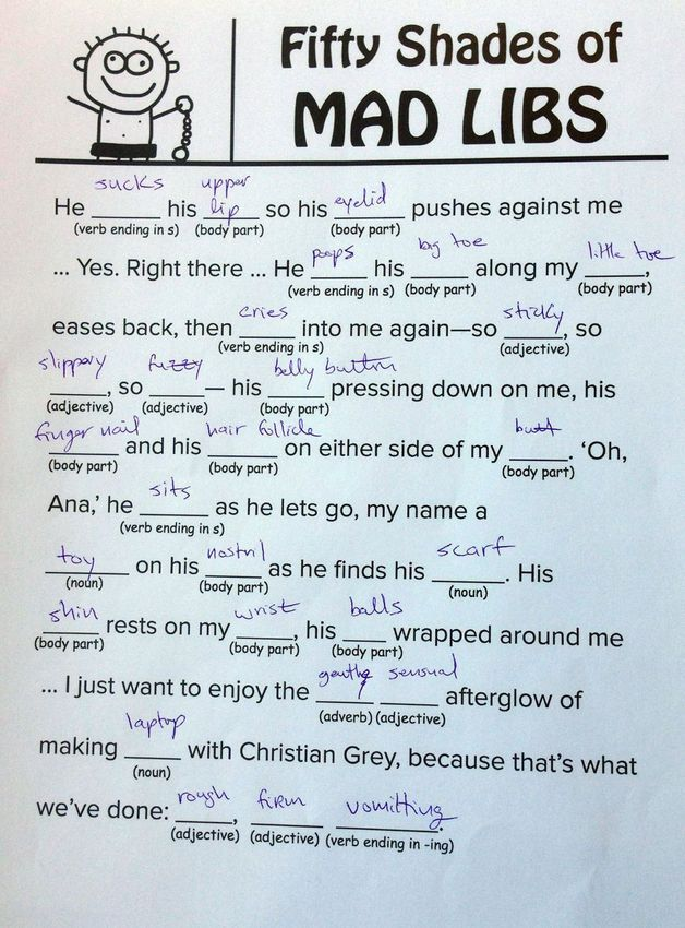 pin by cassandra on party ideas pure r ce  50 shades of grey book sample fifty shades of grey mad libs you can your mother