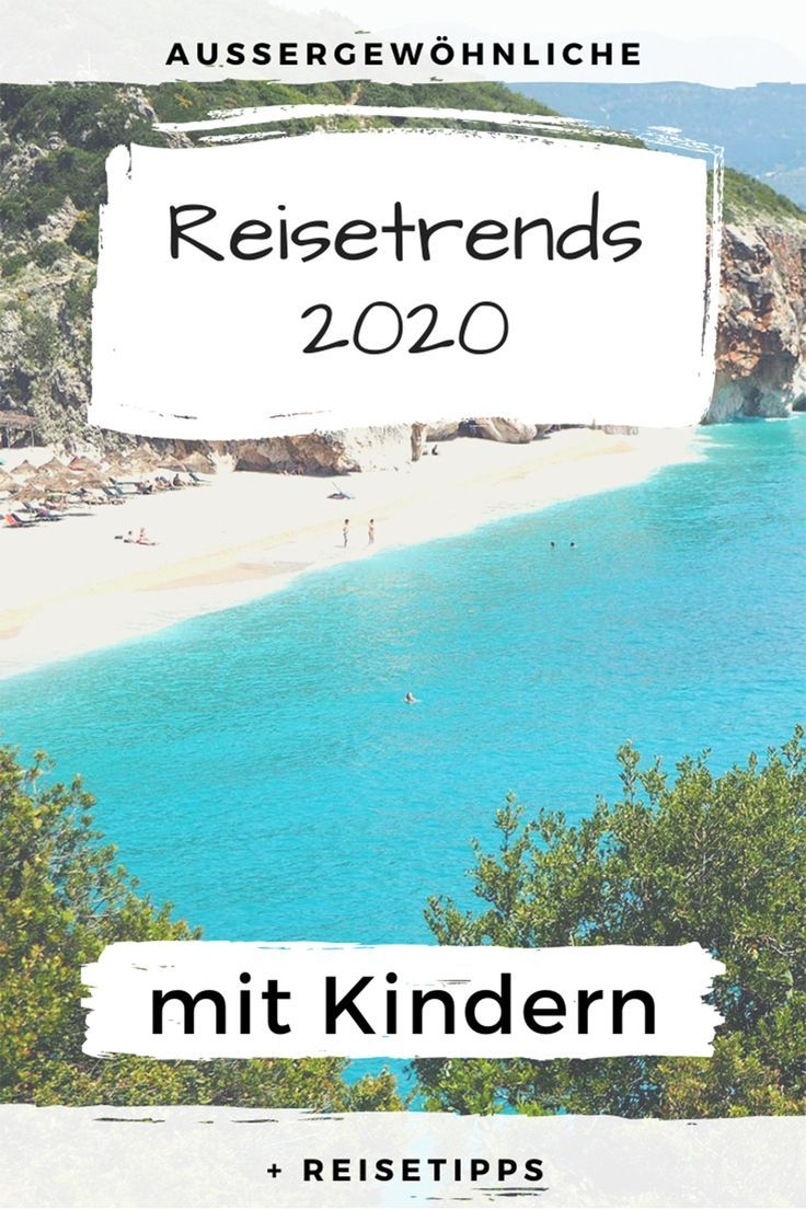 Photo of The 12 newcomers – extraordinary travel trends 2020 with children